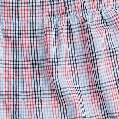 Checkered boxers
