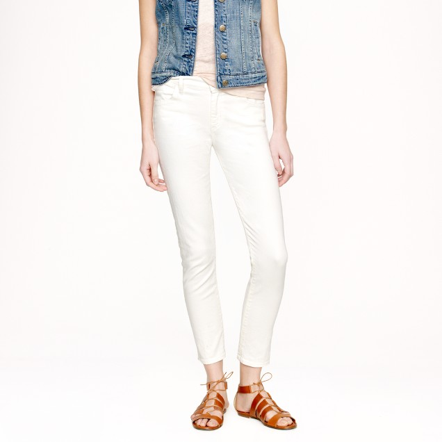 Goldsign® for J.Crew Jenny jean in ecru