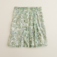 Soiree skirt in teaberry floral