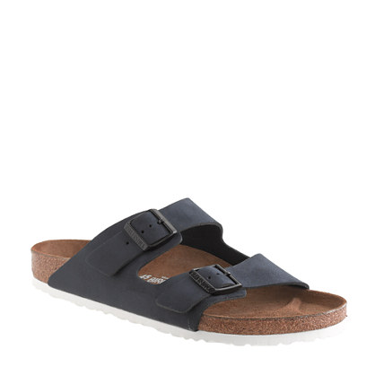 Men's Birkenstock® for J.Crew Arizona suede sandals