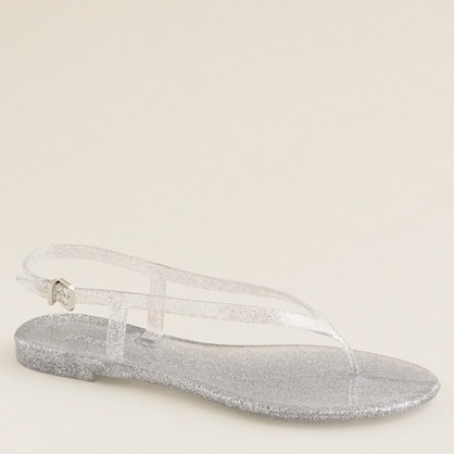 Jelly thong sandals