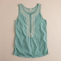 Embroidered souk top