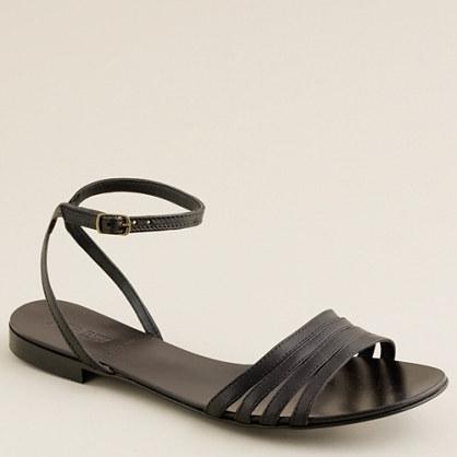 Lilibeth leather sandals