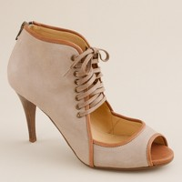 Alexander lace-up booties