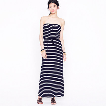 Amie stripe maxidress