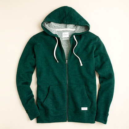 Saturdays fleece full-zip hooded sweatshirt