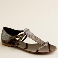 Iris tortoise sandals