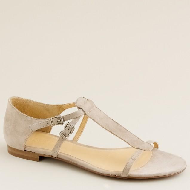 Iris suede sandals