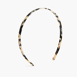 Narrow French tortoiseshell headband