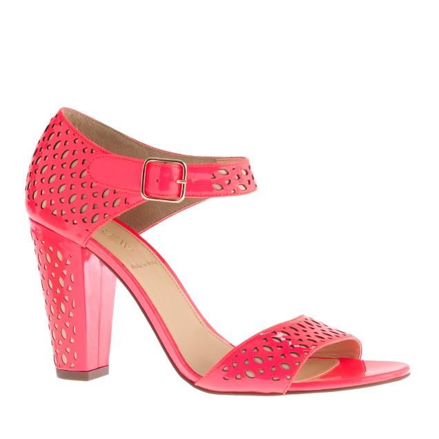 Vega patent perforated sandals