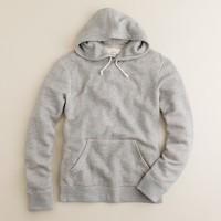 Marled fleece hoodie