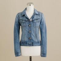Nolita denim jacket in tumbleweed wash