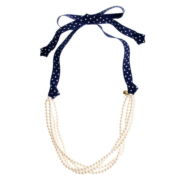 Girls' pearl medley necklace