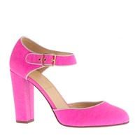 Elsie canvas pumps