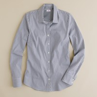 Stretch perfect shirt in navy check