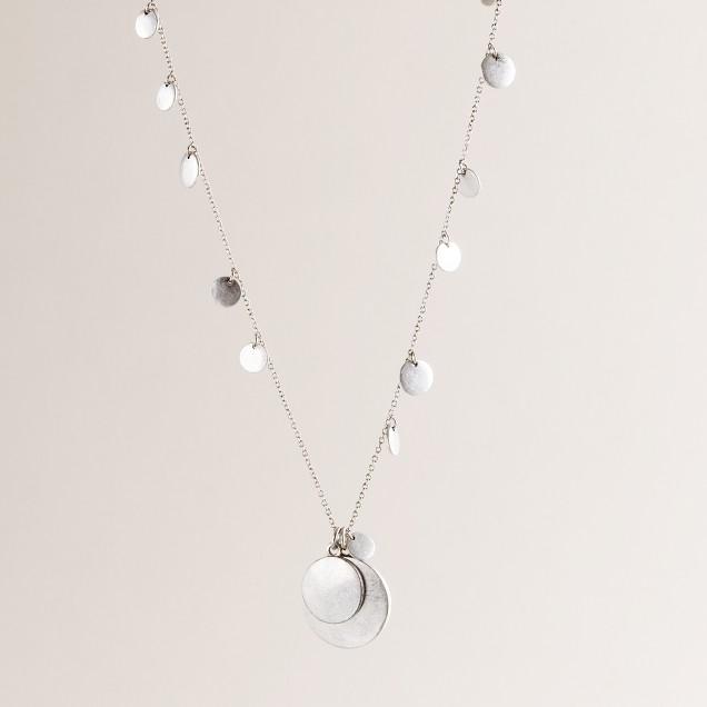 Confetti pendant necklace