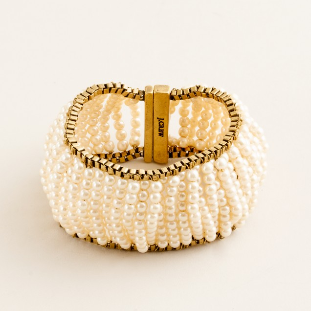 Pearl stripe cuff