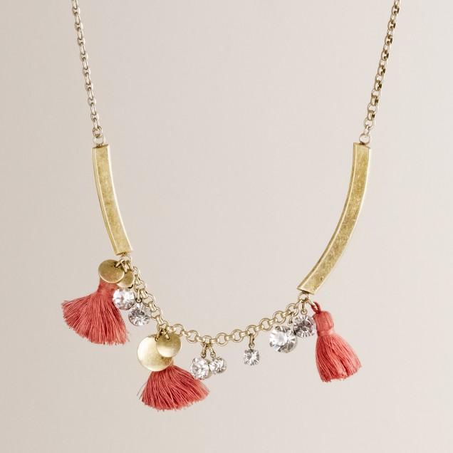 Tassel treasure necklace