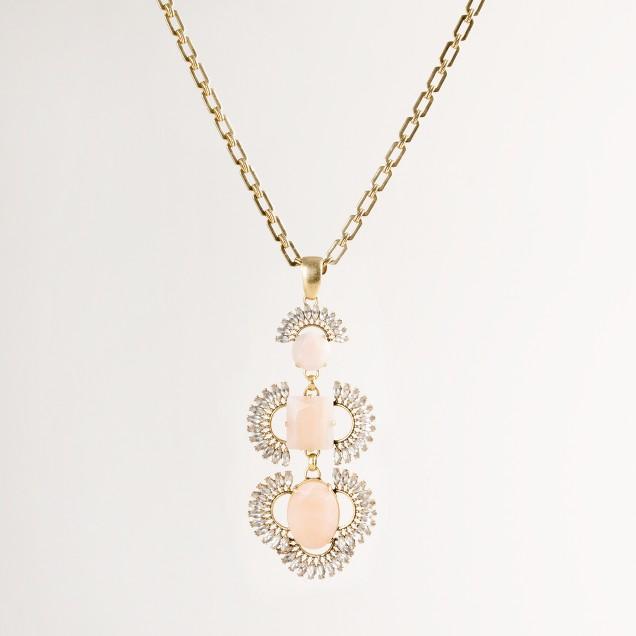 Pluma pendant necklace