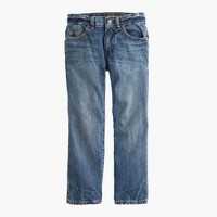 Boys' rugged wash jean in straight fit