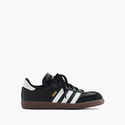 Kids' Adidas® Samba® sneakers with red-stitched tongue