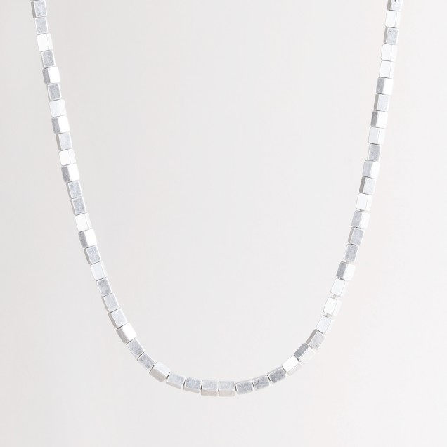Metal boxes necklace