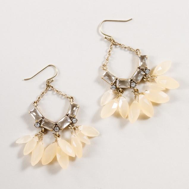 Crystal sunset earrings