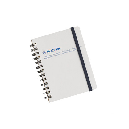 Rollbahn small spiral notebook