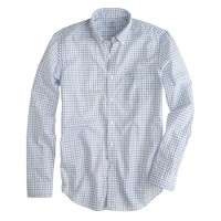 Lightweight shirt in purple check