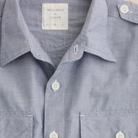 Billy Reid at J.Crew Tallahassee sport shirt