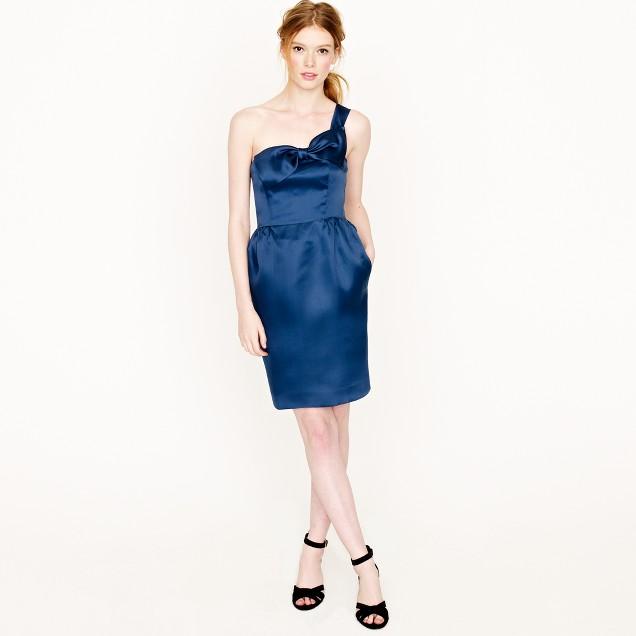 Faye dress in silk organza