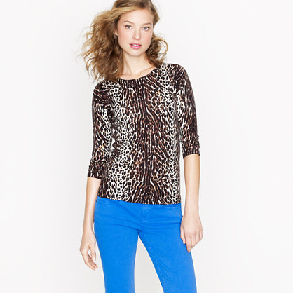 Tippi sweater in leopard