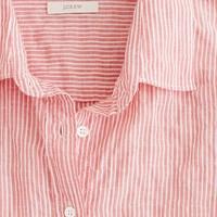 Perfect shirt in suckered stripe