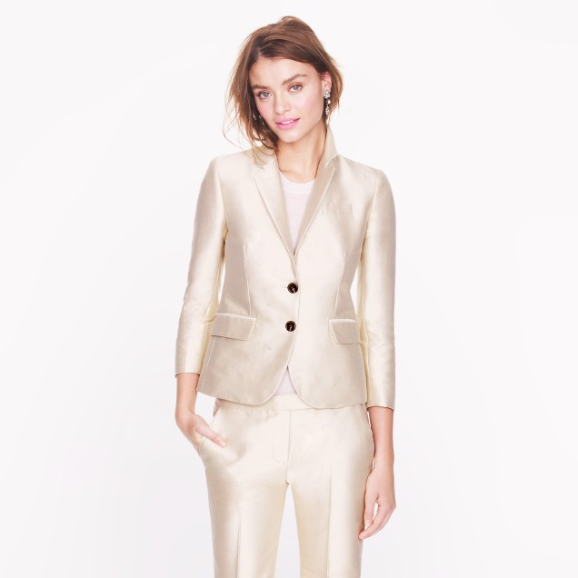 Collection lustre twill jacket