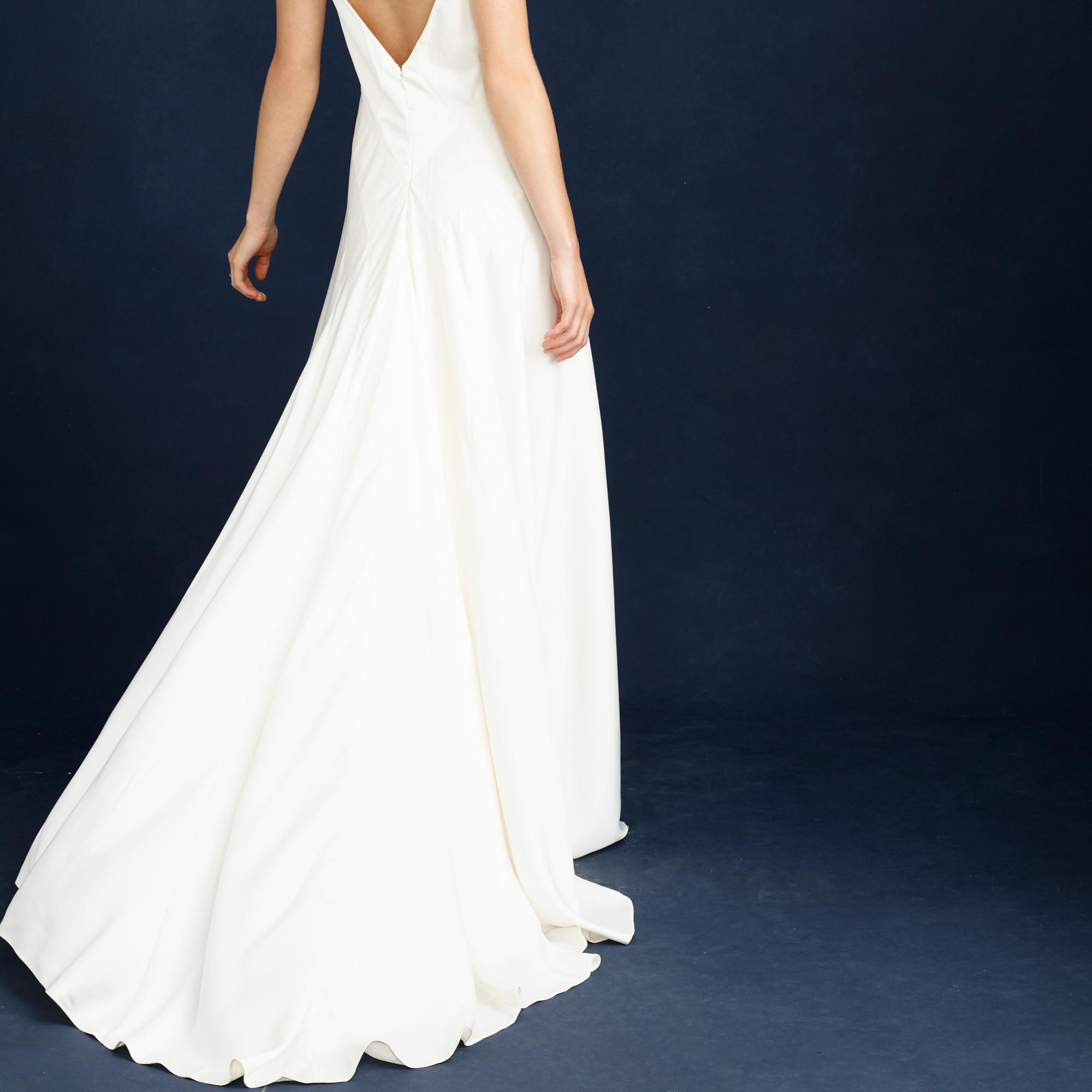 j crew wedding dress Percy gown Percy gown