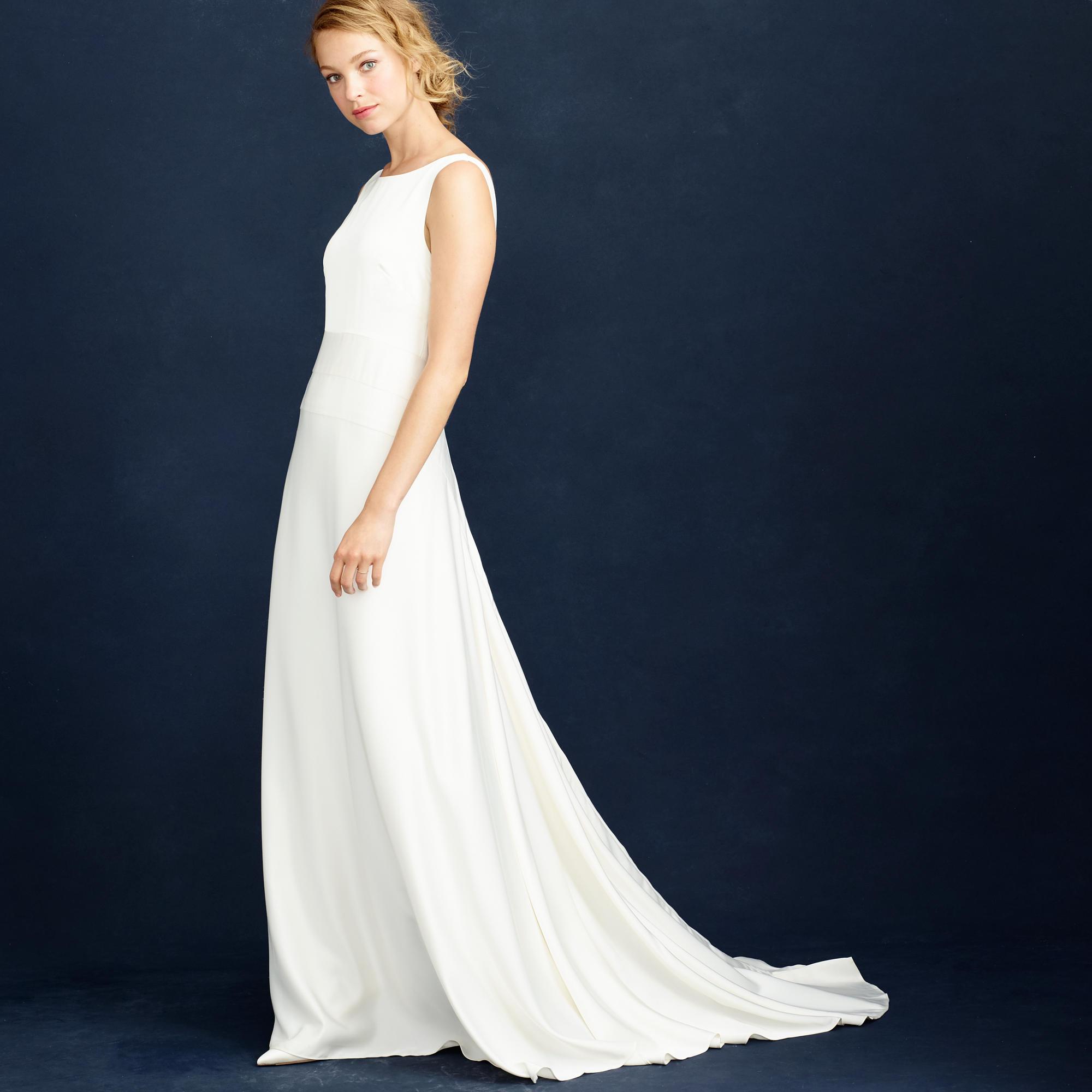 j crew wedding dress Percy gown