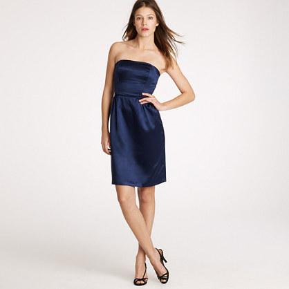 Darlene dress in silk satin