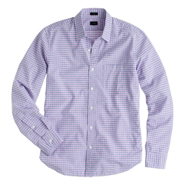 Slim Secret Wash shirt in classic pink gingham
