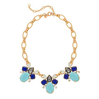 Color drop necklace