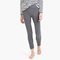 Collection cashmere waffle leggings