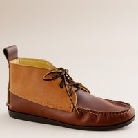 Men's Quoddy® for J.Crew tri-color chukka boots