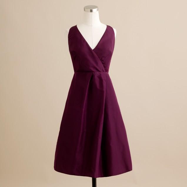 Ruthie dress in silk taffeta
