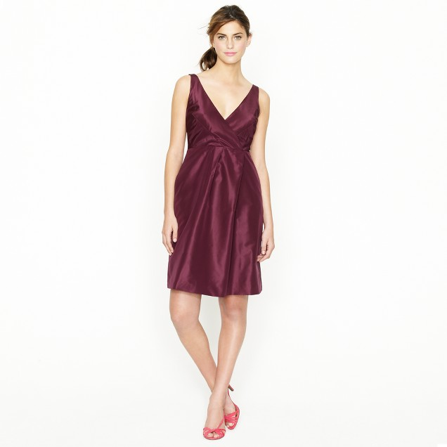 Ruthie dress in silk taffeta