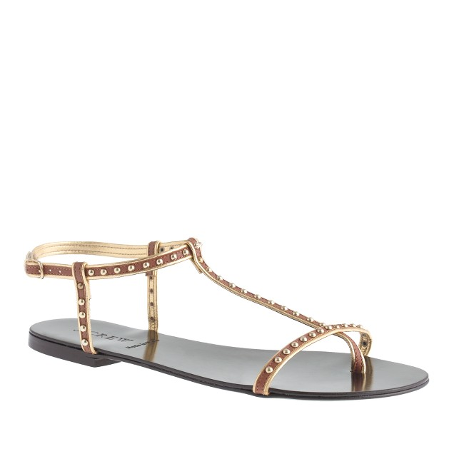 Cyrille studded T-strap sandals