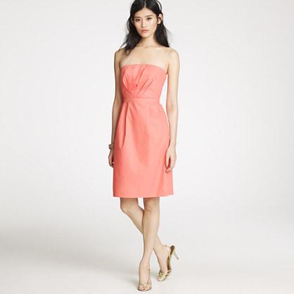 Mollie dress in cotton taffeta
