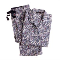 Liberty short-sleeve pajama set in June's Meadow floral