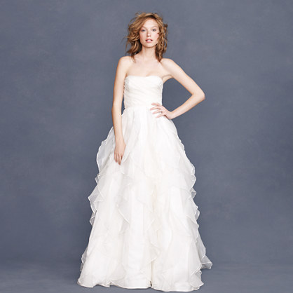 Collection waterfall gown