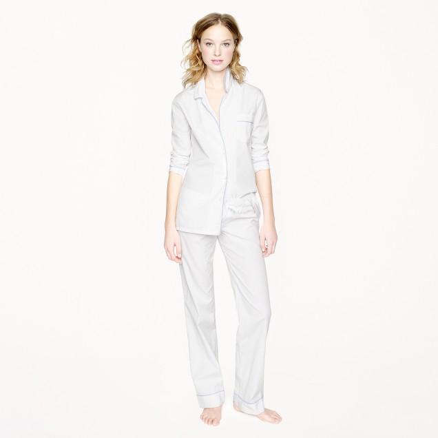Thomas Mason® for J.Crew pajama set