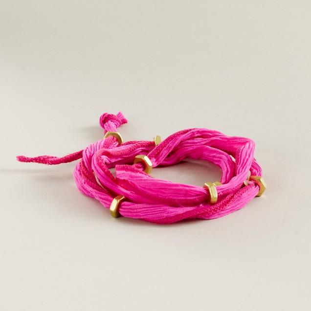 Bhati Beads Silk Planets bracelet