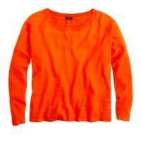 Merino boyfriend sweatshirt